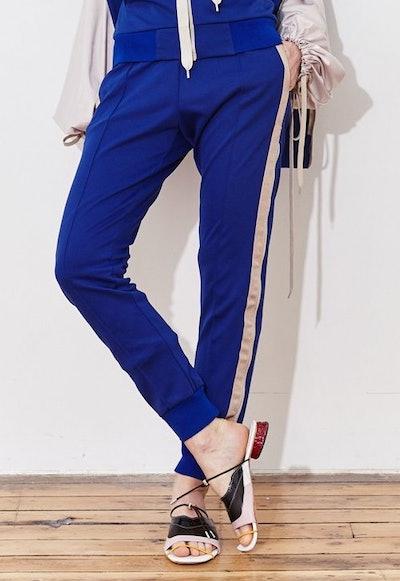 Double Leg Zip-Up Track Pants