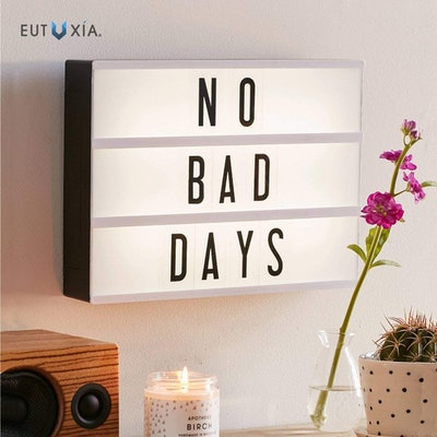 Eutaxia Cinematic Light Box With Letters