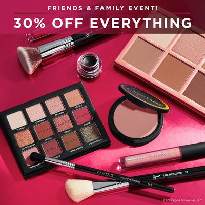 Sigma Beauty Friends & Family Sale