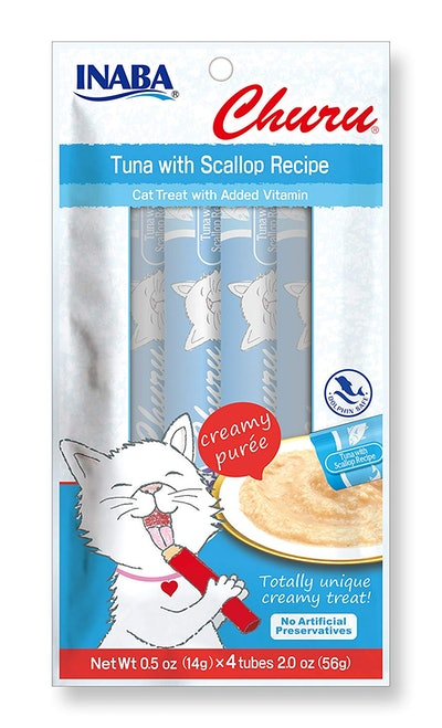 Lickable Puree Creamy Cat Treat