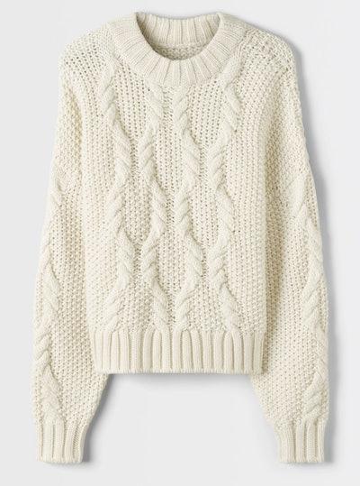 Knit Alpaca Sweater