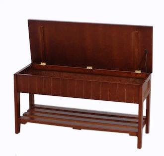 Rumford Wood Storage Bench