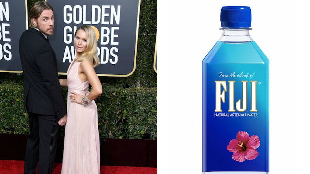 These Tweets About The Fiji Water Girl At The Golden Globes