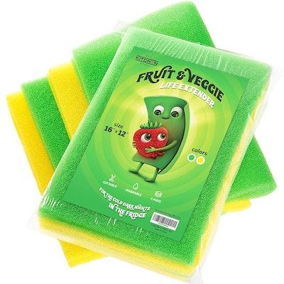 Any Kitchen Stuff Veggie Life Extender Pads (4 Pack)