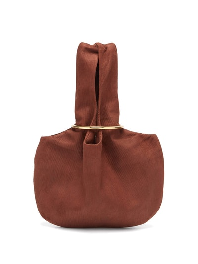 Albus Lumen Sensillo Mini Suede-Corduroy Bag