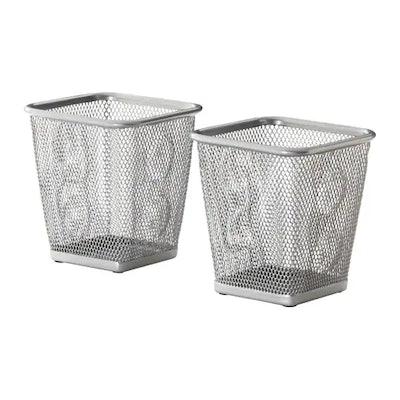 DOKUMENT Pencil Cup - Silver Color (2 Pack)