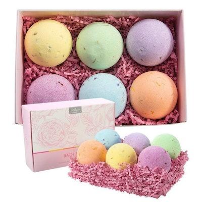 Anjou Bath Bombs Gift Set (Set of 6)
