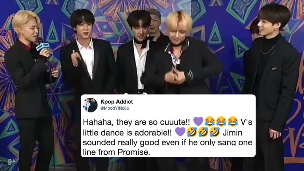 This Video Of BTS' V, Jin, & J-Hope Dancing To Jimin Singing