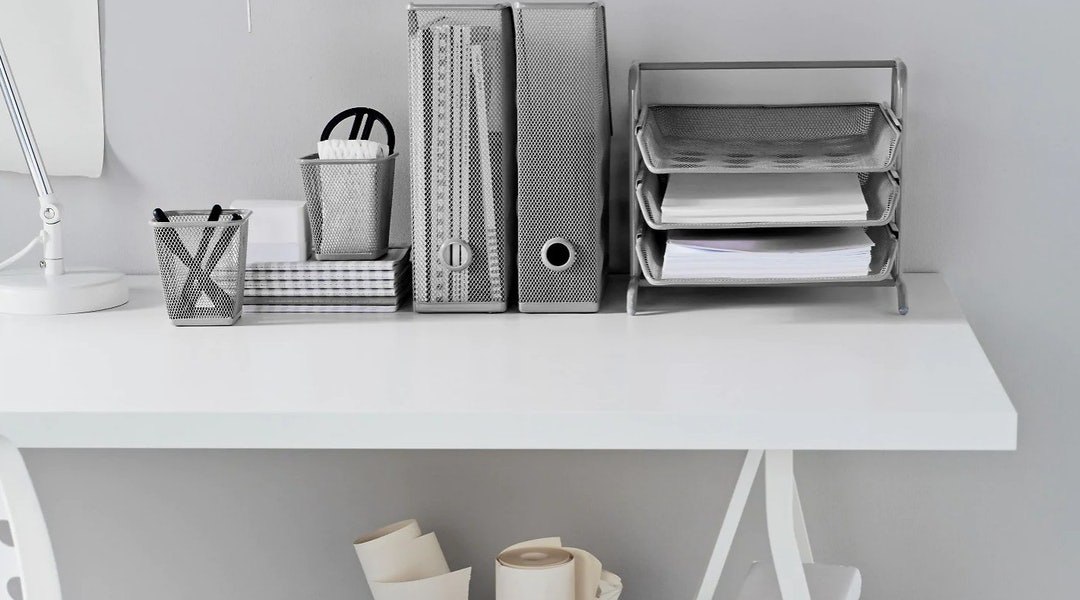 11 Desk Organizers From IKEA That'll Keep Your Office In