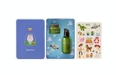 Innisfree x Toy Story Collection Green Tea Lightyear Set