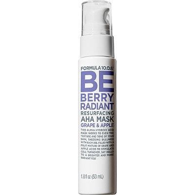 Formula 10.0.6 Be Berry Radiant Resurfacing AHA Mask