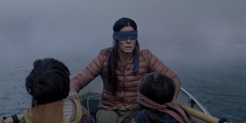 Sandra Bullock in the Netflix horror film 'Bird Box.'