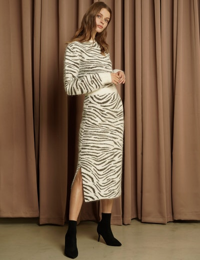 Pixie Market Zebra Print Matching Set