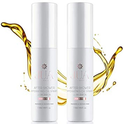 After-Shower Oil Spray & Body Lotion