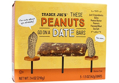 These Peanuts Go On A Date Bars