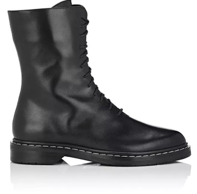 Fara Leather Combat Boots