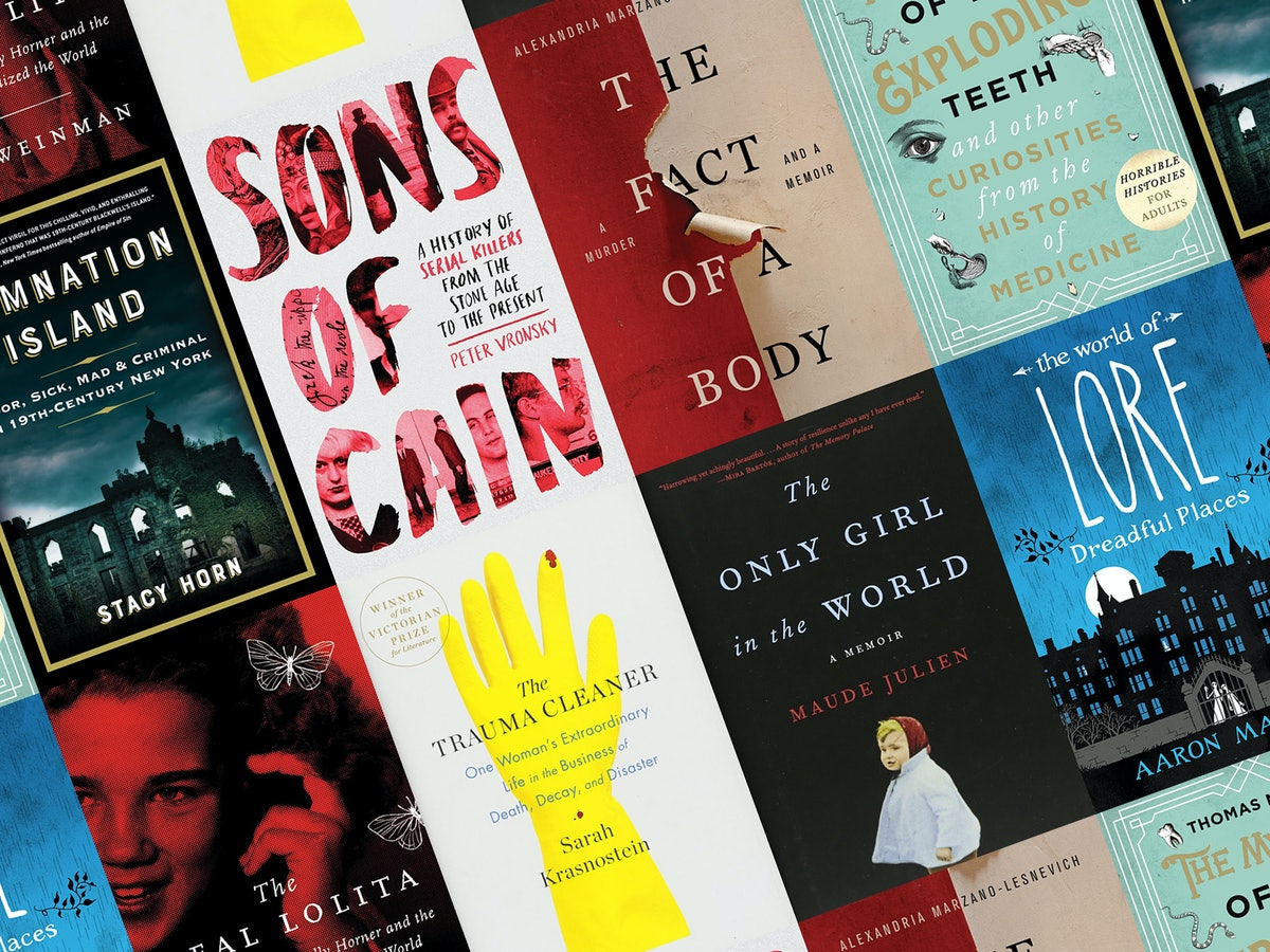 15 Creepy New Nonfiction Books To Keep You Up At Night