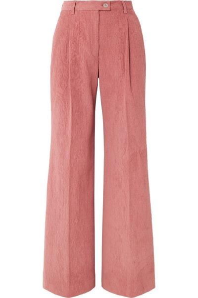 Acne Studios Pina Cotton-Blend Corduroy Wide-Leg Pants