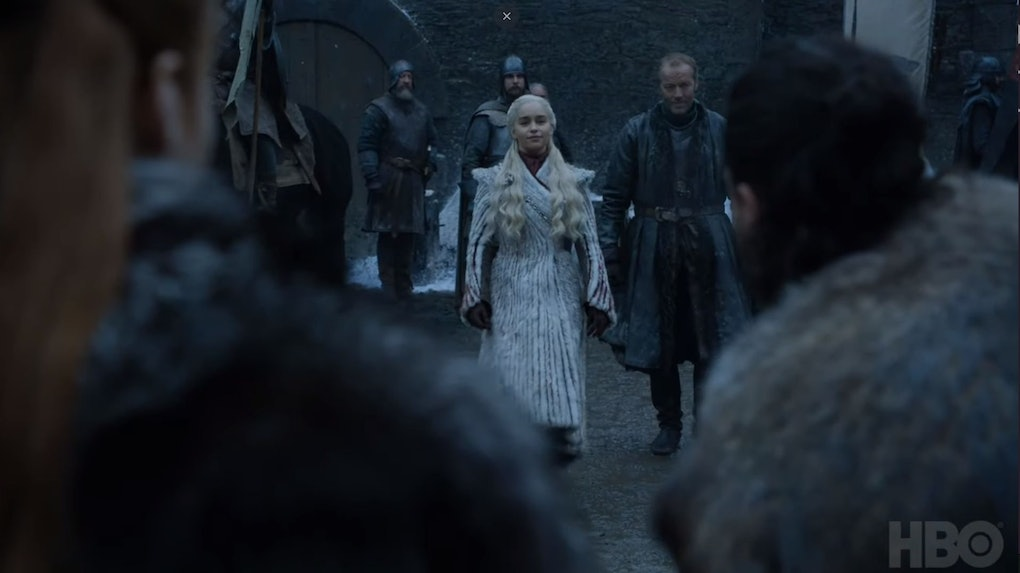 Image result for dany and jon arrive in the north