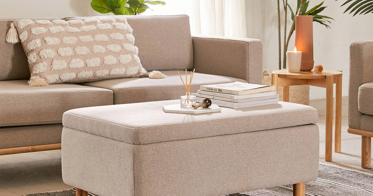10 Storage Benches Under $100 That Will Declutter Your Home Instantly