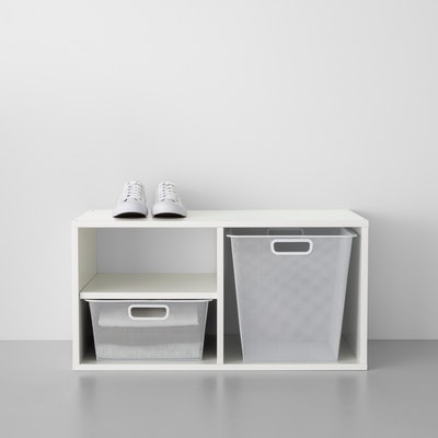Closet Starter Kit - 3 Shelf Closet System With 2 Mixed Size Sweater Boxes - Made By Design™