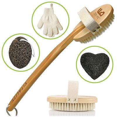 ZEN ME Dry Body Brush Kit