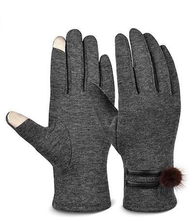 VBIGER Women's Touchscreen Gloves