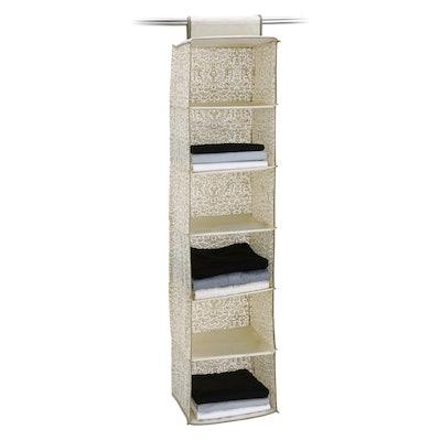 Neu Home Accessory Bag 6 Shelf Set Of 2 Medium Off-White