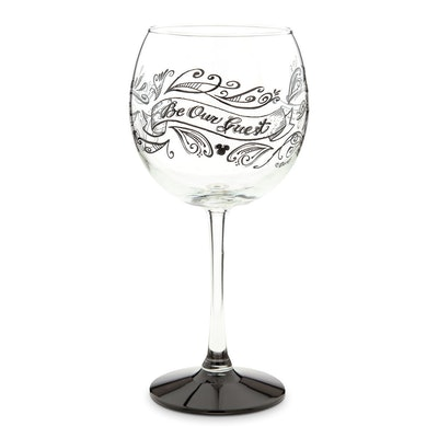 Be Our Guest Stemmed Wine Glass