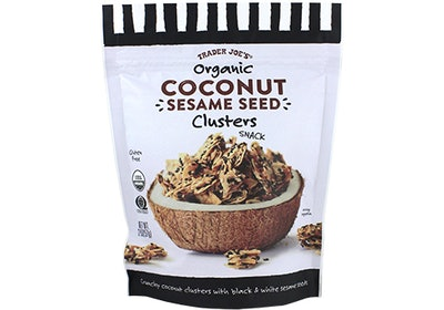 Organic Coconut Sesame Seed Clusters