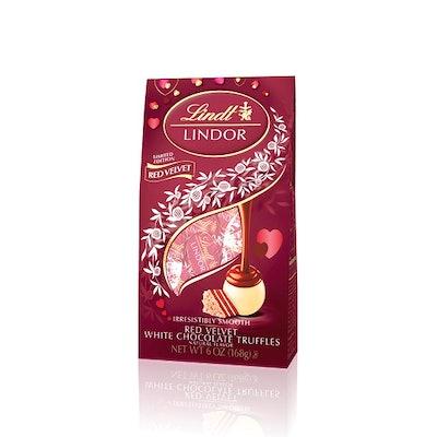 Valentine's Day Red Velvet White Chocolate Truffles
