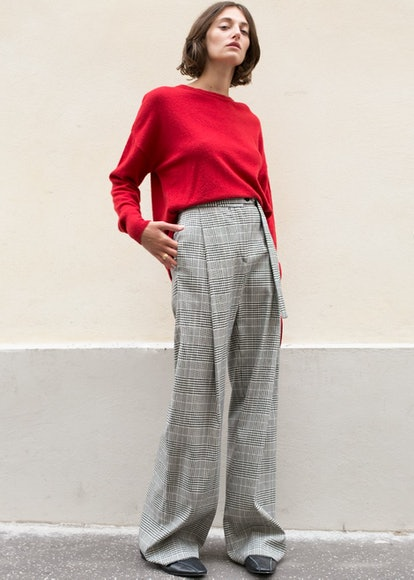 Prince Of Wales Oliner Trousers by Eudon Choi