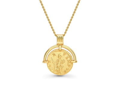 Missoma Lucy Williams Roman Arc Coin Necklace