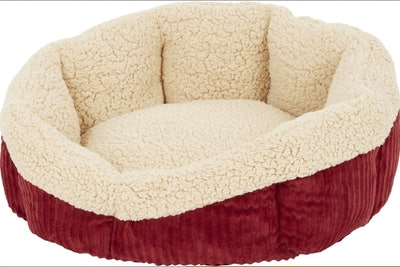 Aspen Pet Self Warming Pet Bed in Warm Spice/Cream
