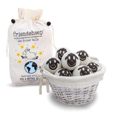 Organic Eco Wool Dryer Balls (6 Pack)