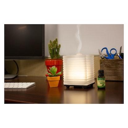 Nature's Truth Glittering Glass Aromatherapy Essential Oil Diffuser