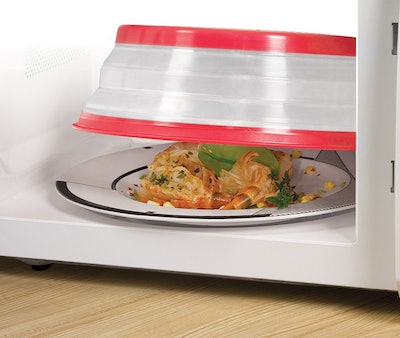 Collapsible Microwave Splatter Lid