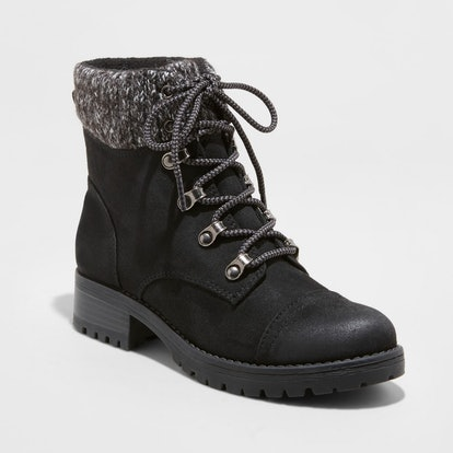Women's Danica Lace Up Boots - Universal Thread™