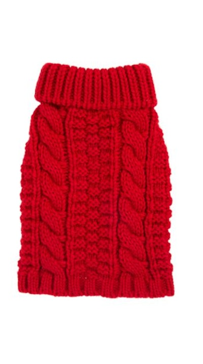 Top Paw® Chunky Knit Pet Sweater