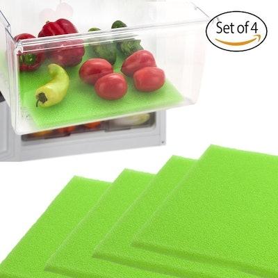 Dualplex Fruit and Veggie Life Extender Liner for Refrigerator Drawers