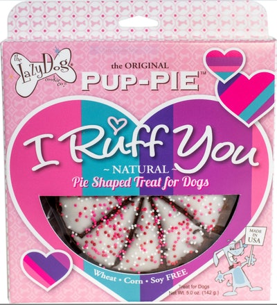 I Ruff You Pup-PIE Dog Treat