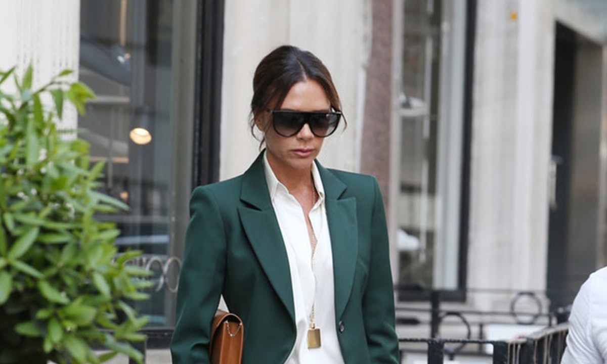Victoria Beckham's Topknot Hairstyle Is So Easy To Recreate