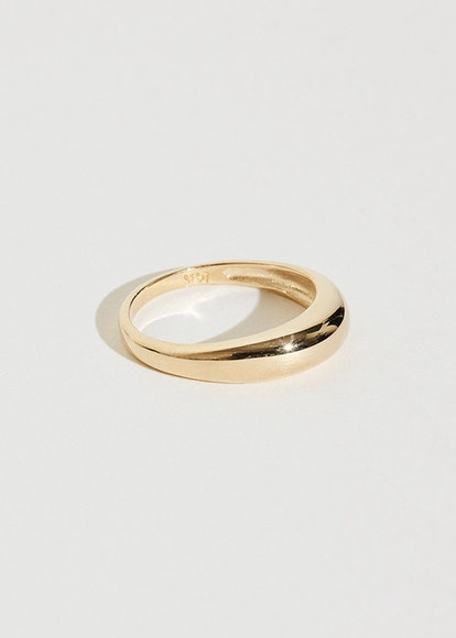 J. Hannah Gold Form Pinky Ring I