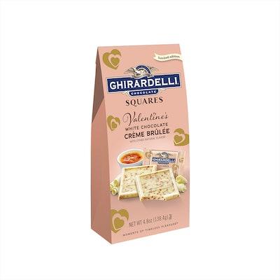 Valentine's Day White Chocolate Crème Brulee Bag
