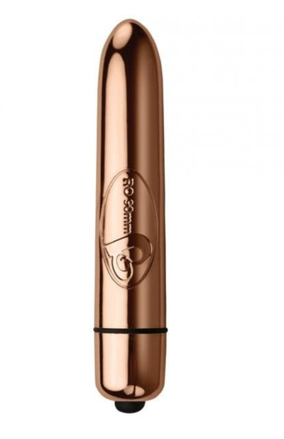 Shoot to Thrill Bullet Vibrator in Rose Gold