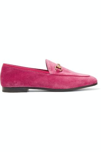 Jordan Velvet Loafers