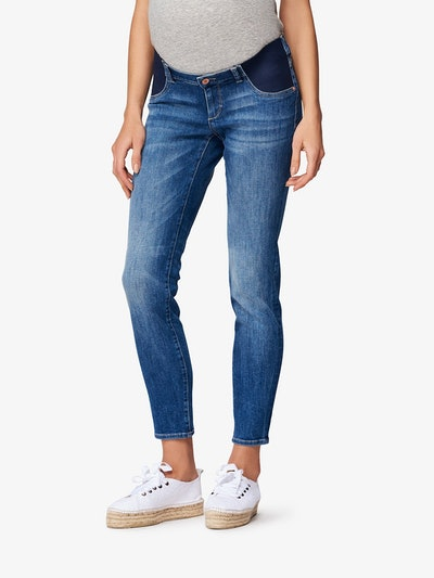 DL1961 Angel Mid Rise Maternity Skinny Jeans