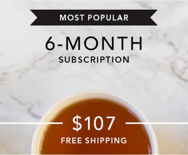 Art of Tea Six Month Subscription