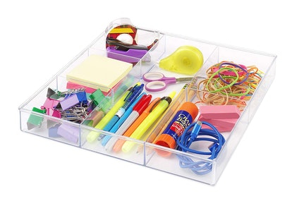 Whitmor 6 Section Drawer Organizer