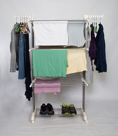 Idee Collapsible Clothes Drying Rack
